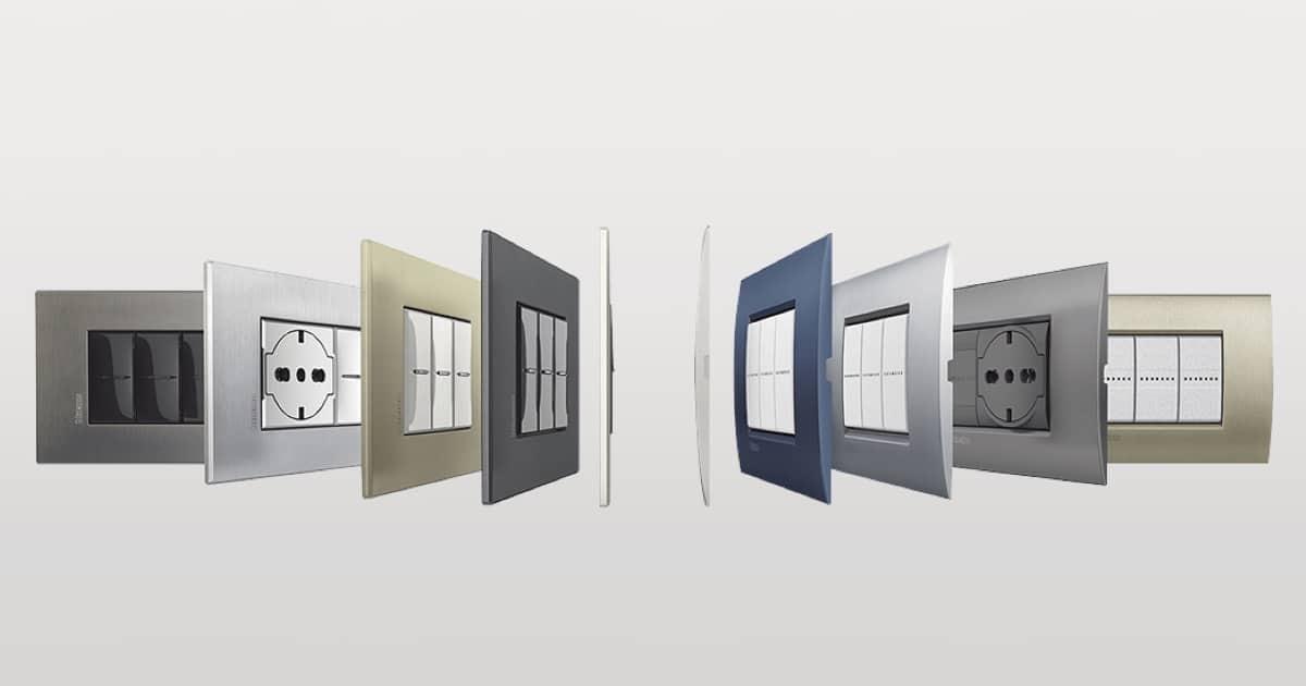 boutique outlet prodotti caldi vari stili Placche Elettriche | Placche per interruttori | Placche luce