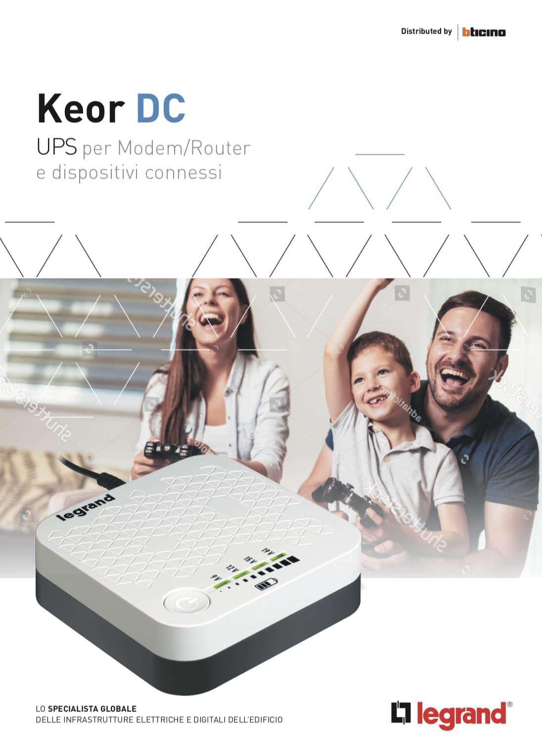 Brochure Keor DC