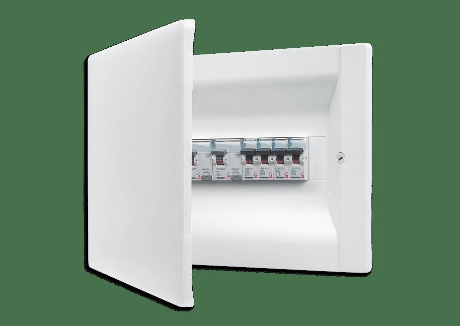 Schema Quadro Elettrico Per Appartamento : Quadro elettrico e protezione impianto elettrico di casa