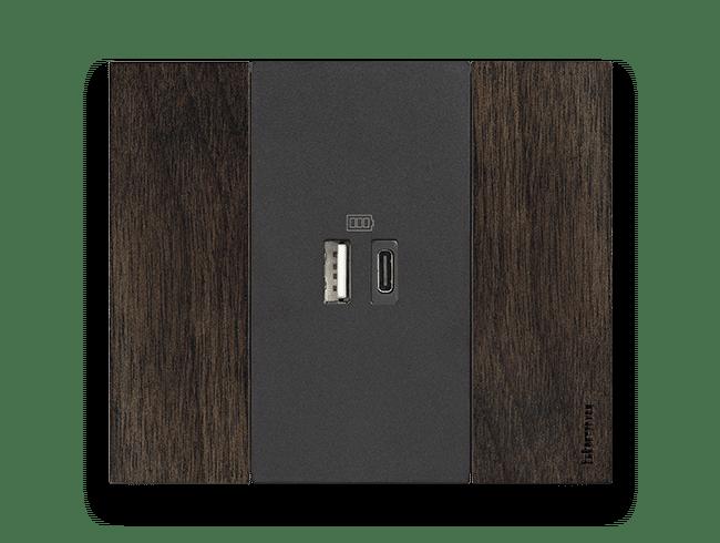USB TIPO A E TIPO C