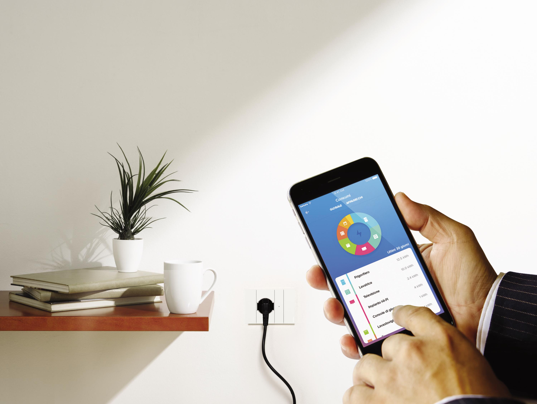Controllore la casa domotica dallo smartphone